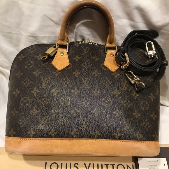 ba8e23e8c42 Louis Vuitton Bags   Alma Tote Gorgeous Shoulder Strap   Poshmark